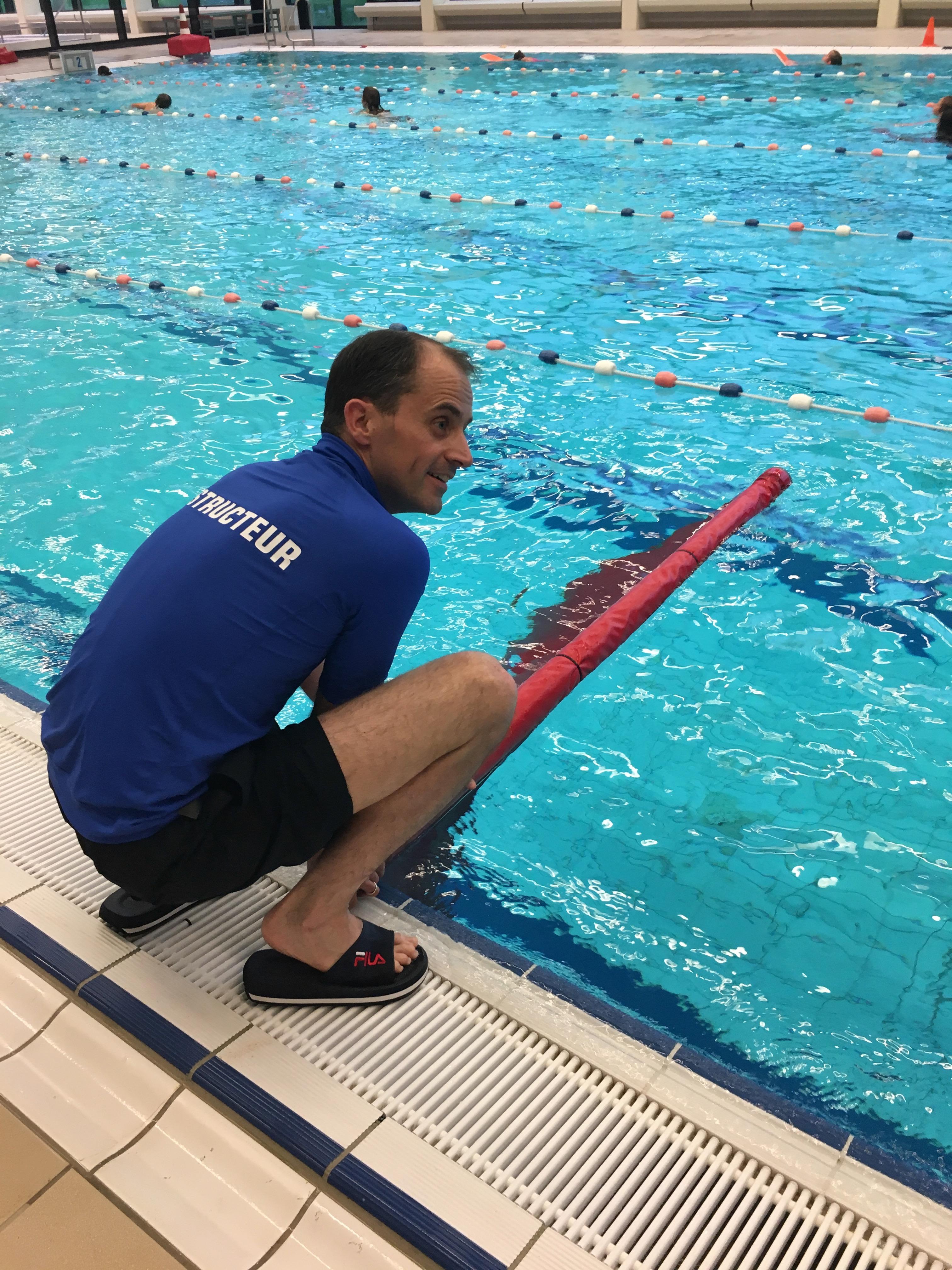 Tonnes Blonk Ouder kind zwemmen WRB