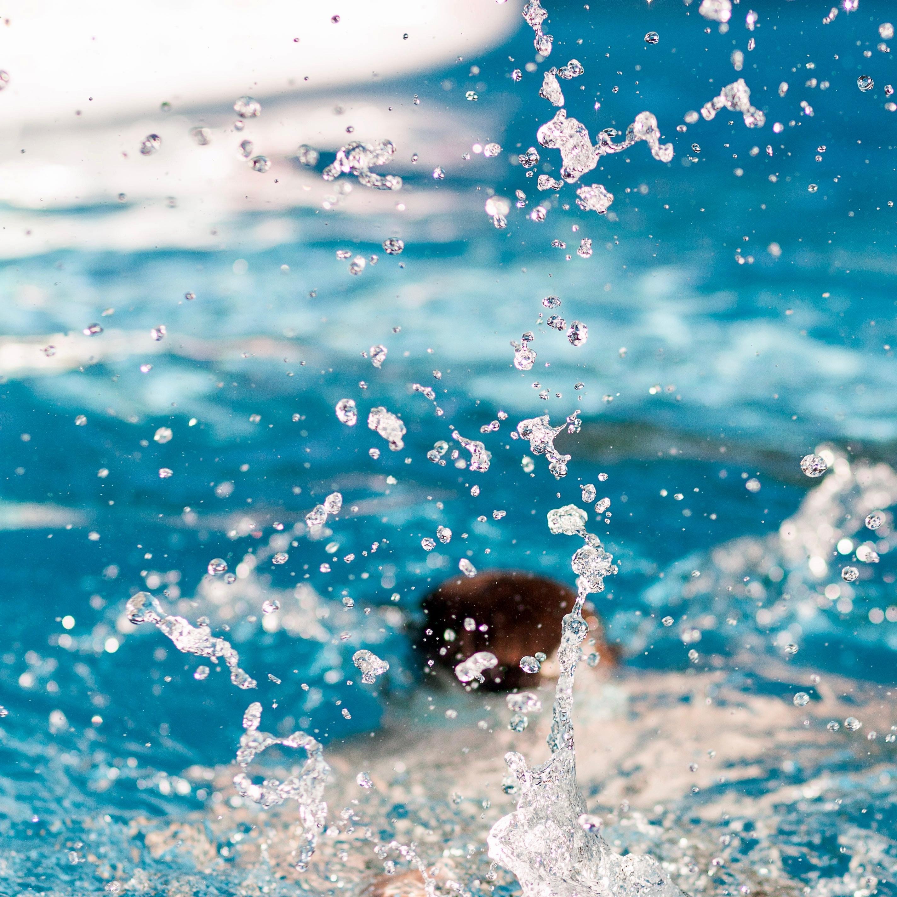 We mogen weer zwemmen!