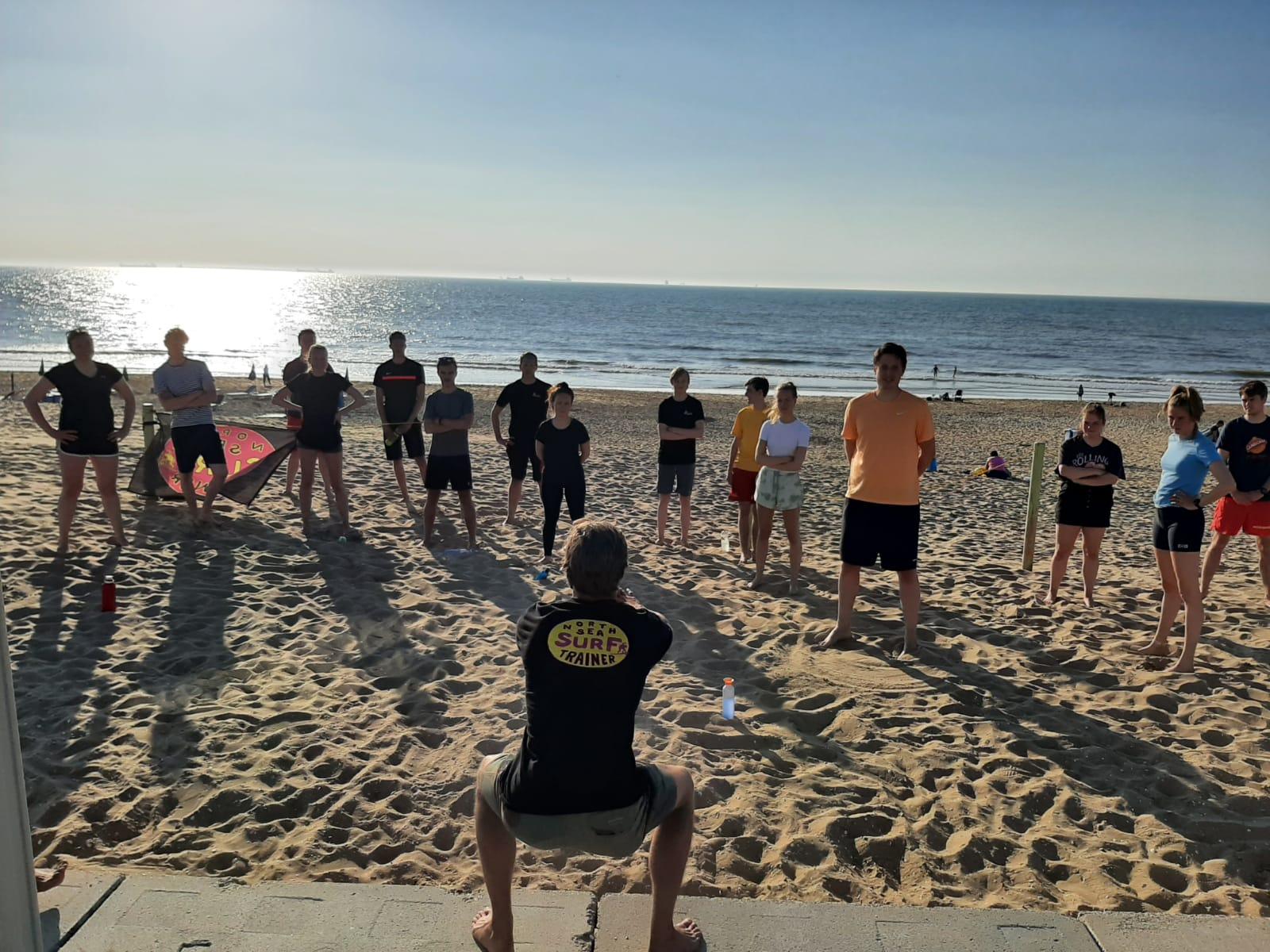 Kick-off training strandseizoen
